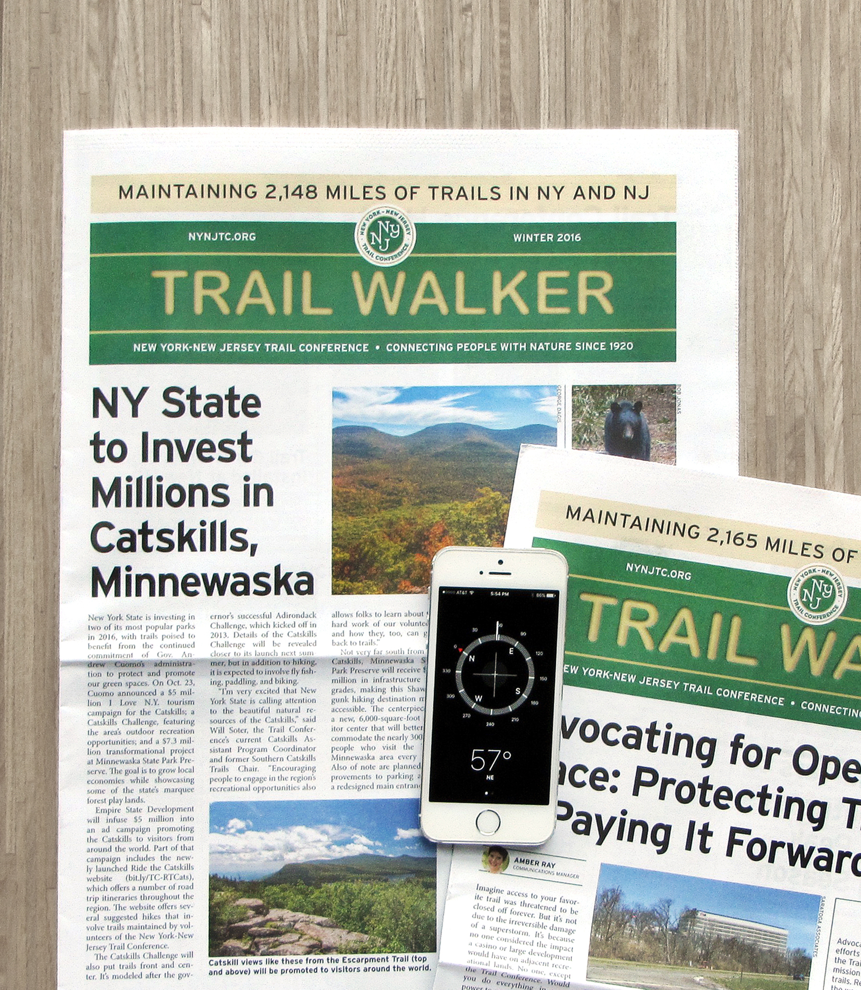 Trail Walker print newsletter
