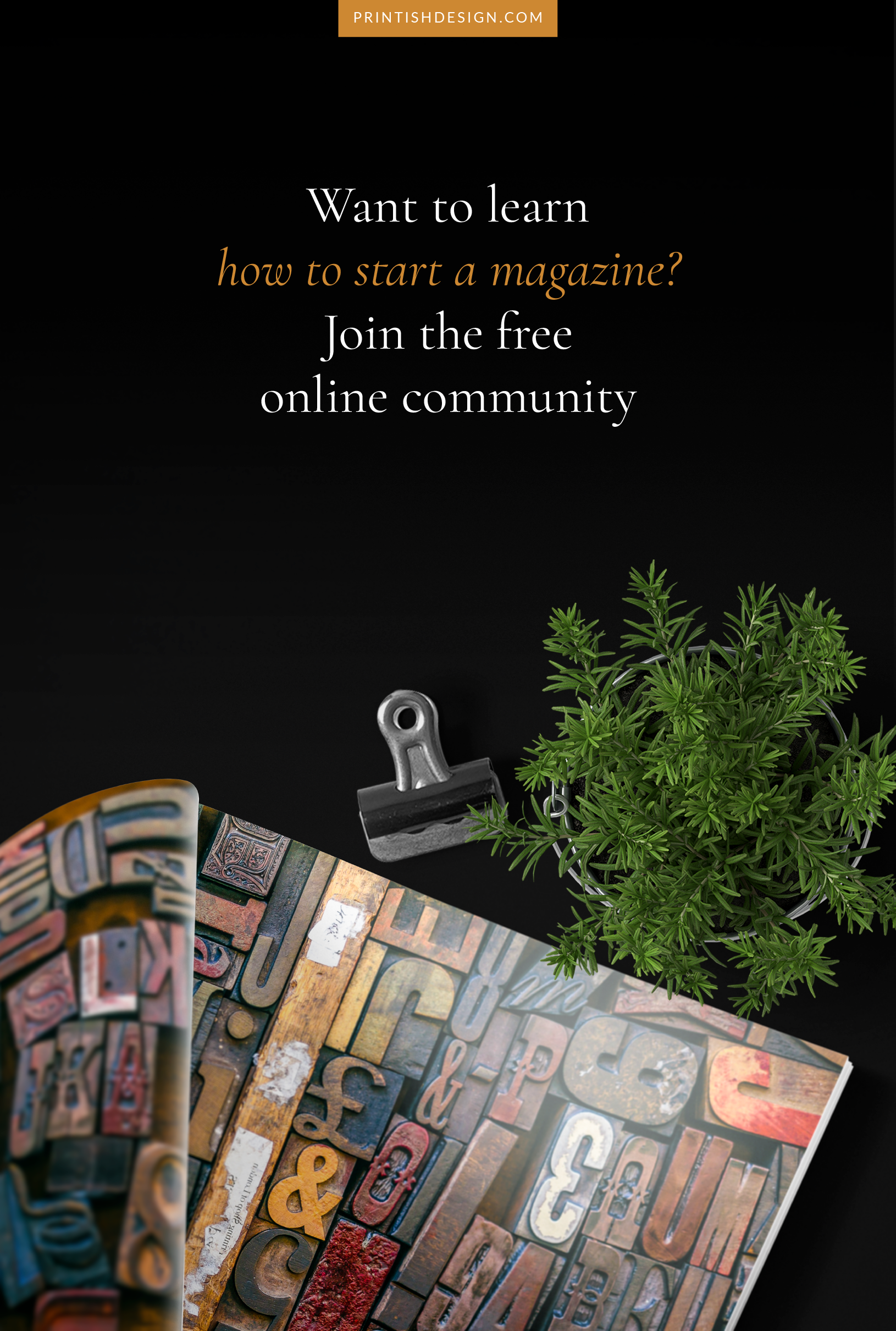 Want to Start a Magazine? Join the Free Online Community